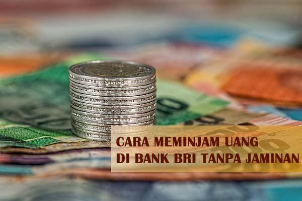 Cara Meminjam Uang di Bank BRI Tanpa Jaminan