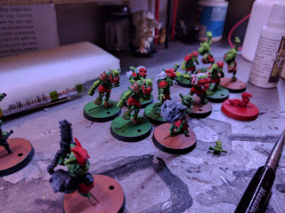 goblins on the painting table