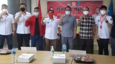 Wakil Walikota Manado Terpilih. Richard Sualang Kembali Pimpin Perbasi Manado