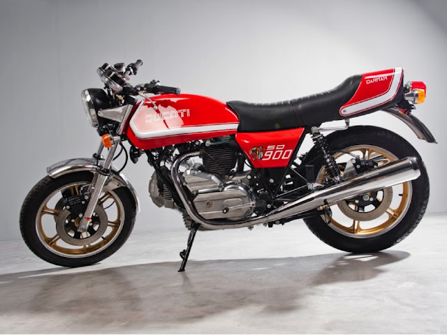 Ducati Dharma SD 1970s Italian classic sports motorbike