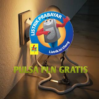 Pulsa PLN Gratis
