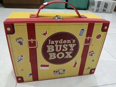 Jayden's Busy Box