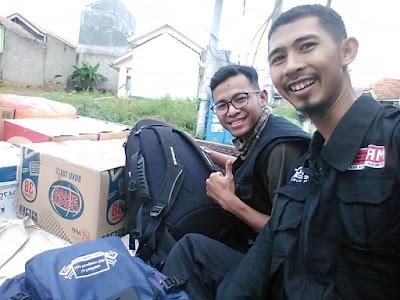 Relawan Asal Pontianak Salurkan Bantuan ke Kelumbayan Tanggamus