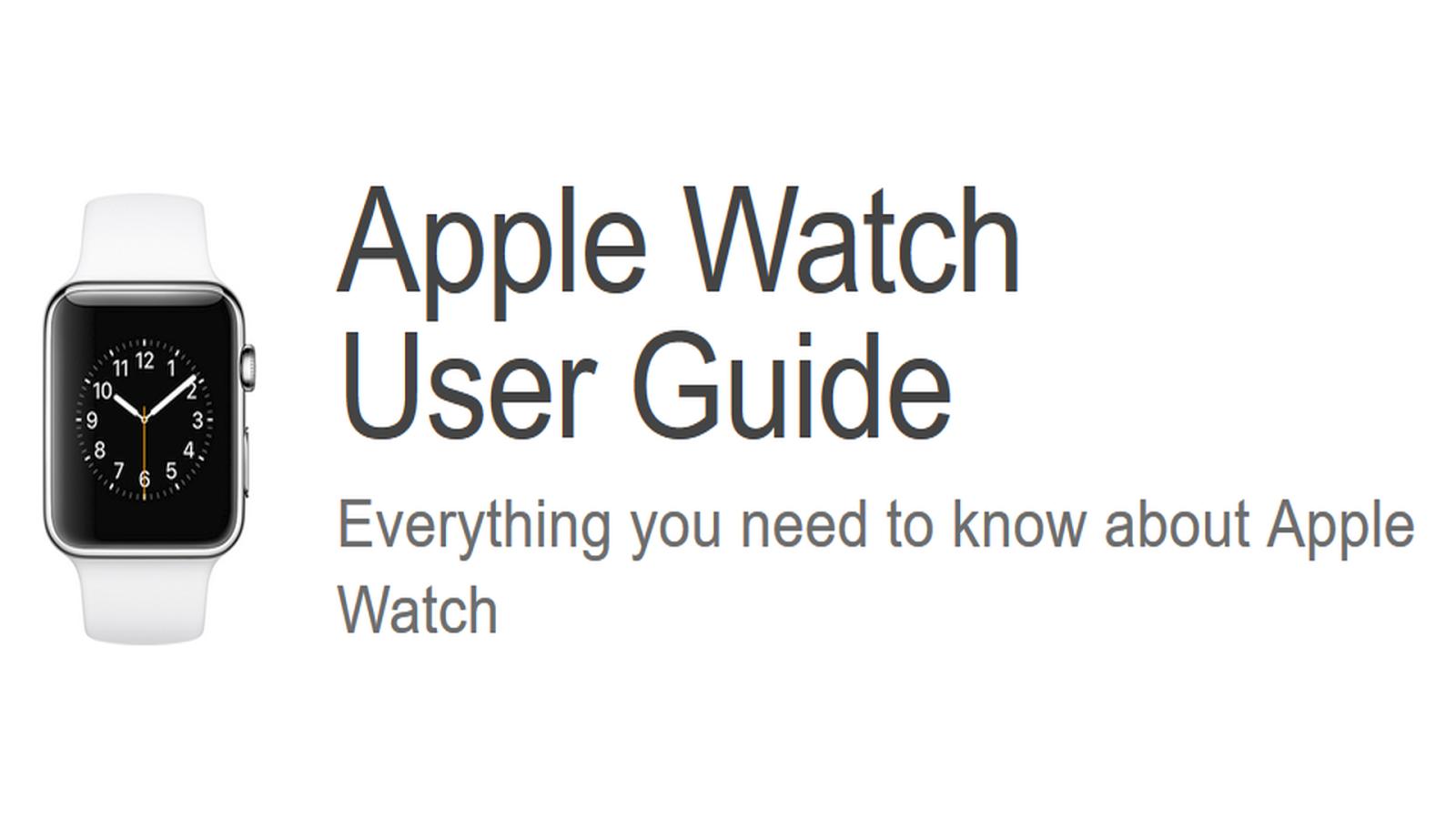 Apple Watch 3 Manual