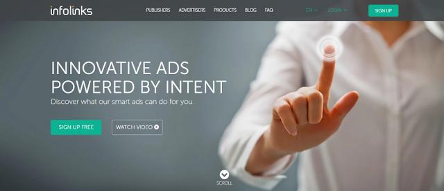 Infolinks Review | Best Google  AdSense Alternative