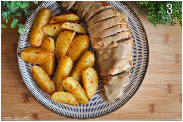 receita de rosbife de carne de porco