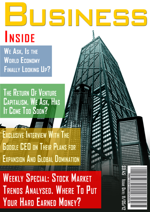 Completed Magazine Cover Design