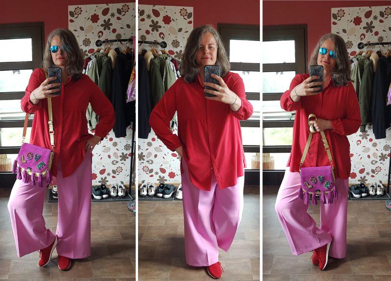 Zoe Lu Love Reloaded auf gelbem Buddy zu Rot und Pink kombiniert