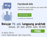 Belajar Cara Pasang Iklan di Facebook Bersama TDA Jogja