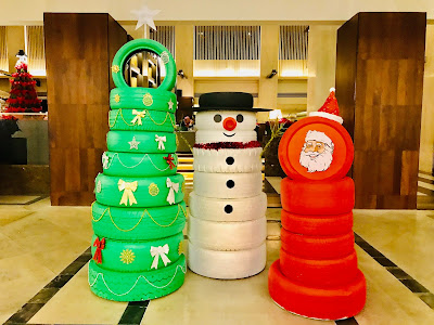 "Invoke Your Christmas Childhood Memories""- Themed Christmas Tree Lighting Ceremony At Hyatt Regency Kinabalu"