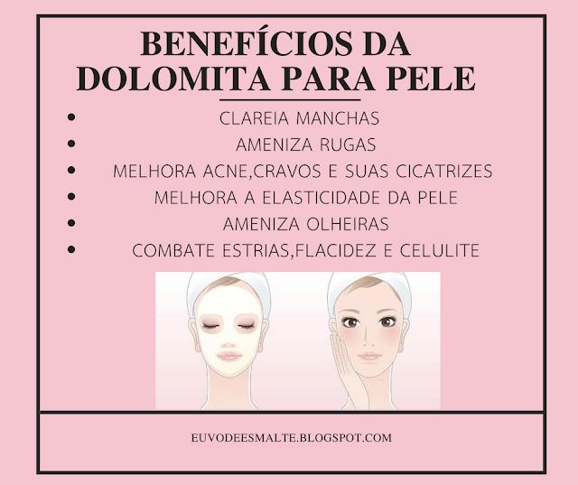Benefícios da Dolomita para Pele