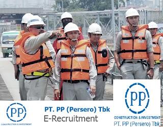 Lowongan Kerja BUMN PT PP (Persero) Tbk April 2017