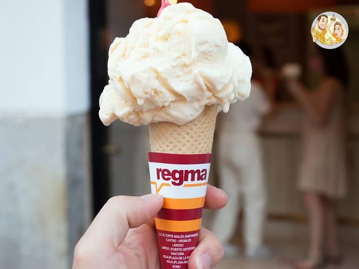 Helados Regma, heladería Regma