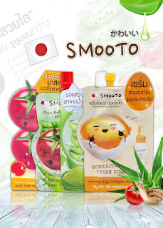[REVIEW] SMOOTO ALOE VERA GEL, TOMATO WHITE SERUM AND MASK