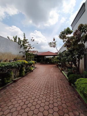 Rumah Halaman Belakang Sangat Luas Di Komplek Pertamina Jl Air Bersih Ujung Medan Denai - Medan