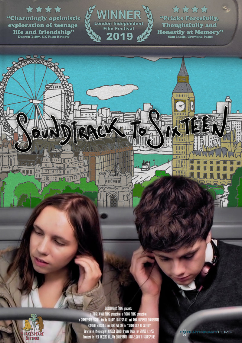 soundtrack to sixteen poster