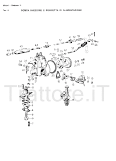 InfoTrattore.it: Manuale (esploso meccanico) Motore Same