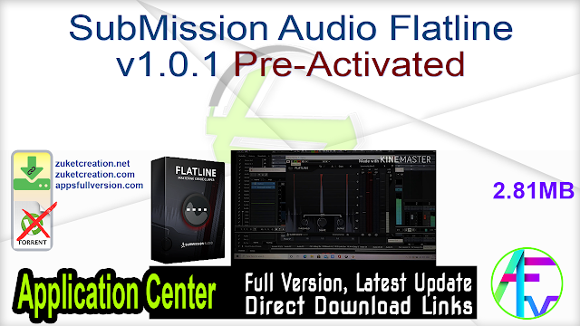 SubMission Audio Flatline v1.0.1 Pre-Activated