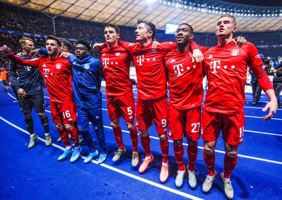 Bayern Gegen Hertha 2021