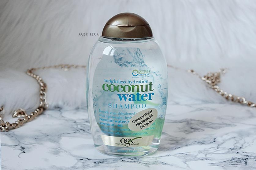Organix Coconut Water Shampoo │ Extra Nemlendirici Şampuan ♡ │ AUSE ESUA