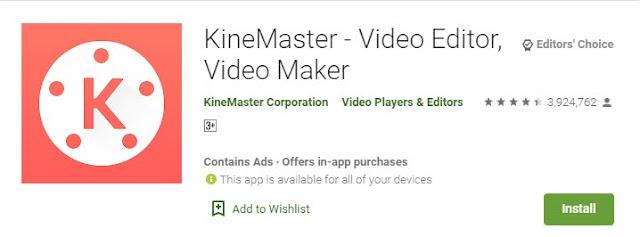 KineMaster Video editors