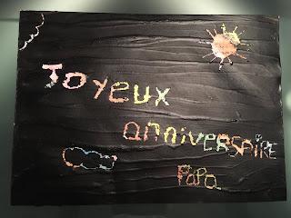 Carte à gratter, DIY, joyeux anniversaire