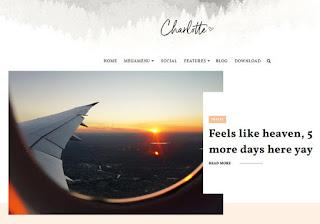 Charlotte Blogger Template