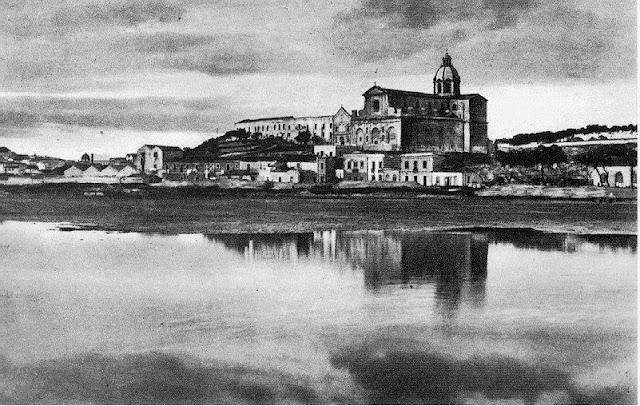 Fotografia antiga basílica de Bonaria