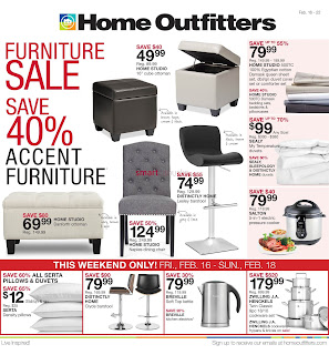 Home Outfitters Canada Flyer February 16 - 22, 2018