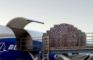 boeing 767 cargo capability