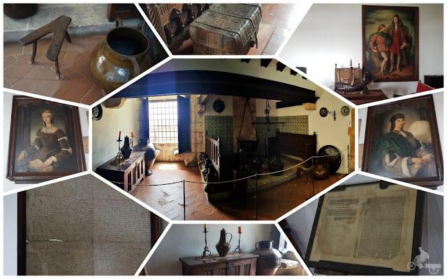 mobiliario alcázar de Colón