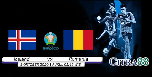 Prediksi Bola Iceland vs Romania 09 Oktober 2020