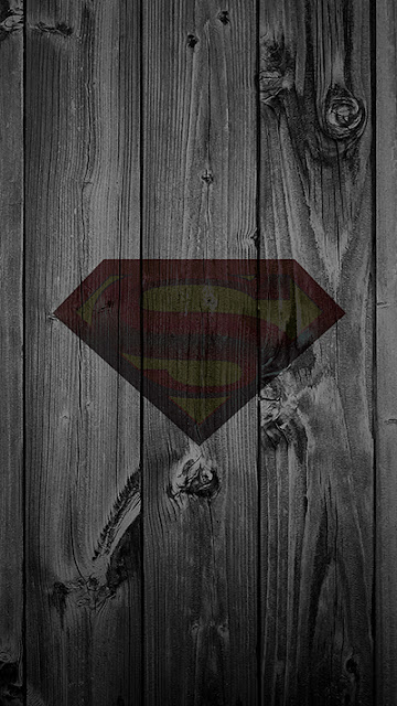 Man of Steel Logo Wallpaper iPhone 7 Plus
