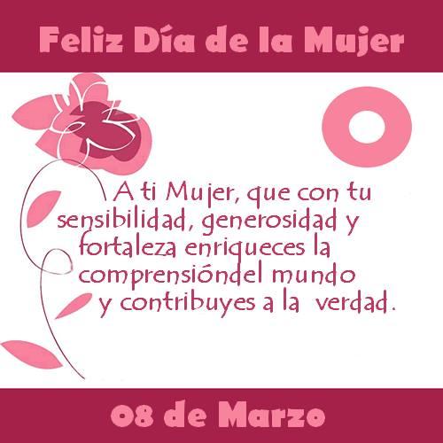 Especial Día De La Mujer 8 De Marzo Frases Por Reflexiones