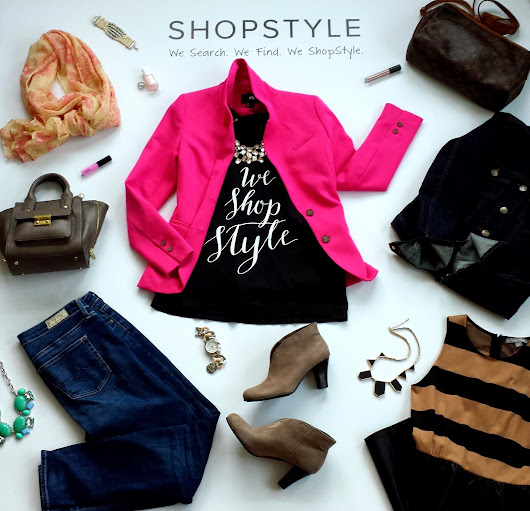 We Search. We Find. We Shopstyle!