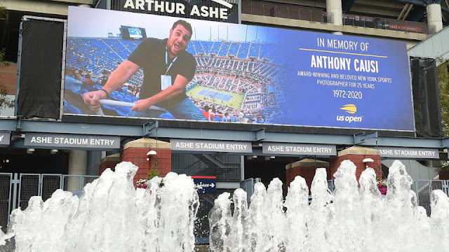 US Open in memorian 2020 arthur ashe Anthony Causi