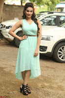 Manjusha in beautiful thin green gown At Jaya Janaki Nayaka le Logo Launch ~  Exclusive 136.JPG
