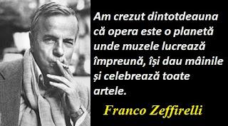 Maxima zilei: 12 februarie - Franco Zeffirelli