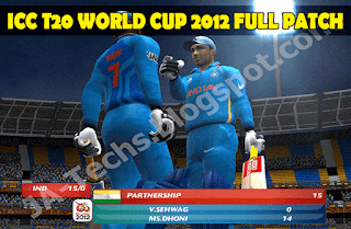 ICC T20 Cricket World Cup 2012 Full Patch