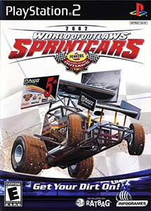 World of Outlaws Sprint Cars Ps2 ISO (Ntsc-Pal) (MG-MF)