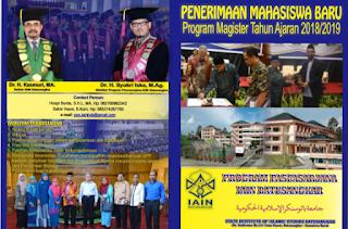 Penerimaan Mahasiswa Baru Program Pascasarjana Tahun 2018 Gelombang I