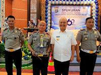 Wali Kota Medan Hadiri Syukuran HUT Lalu Lintas Bhayangkara Ke-62