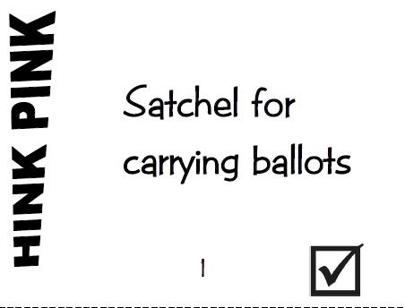 It's About Time, Teachers!: Election Vocabulary