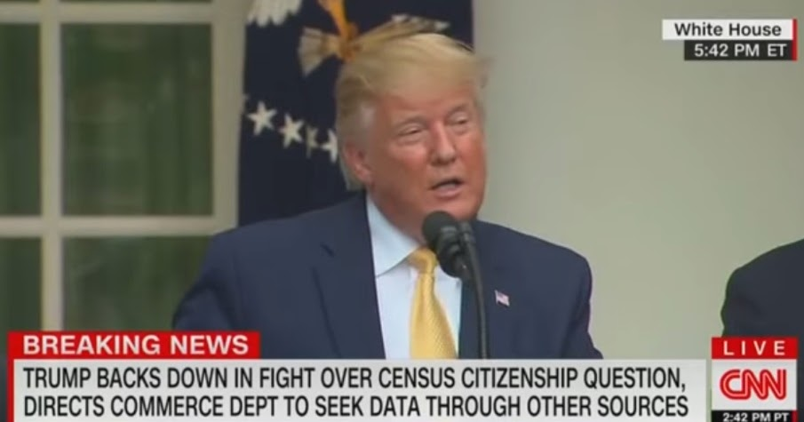 BREAKING, Trump Announces Plan For Citizenship Question And It's Dems Worst Nightmare