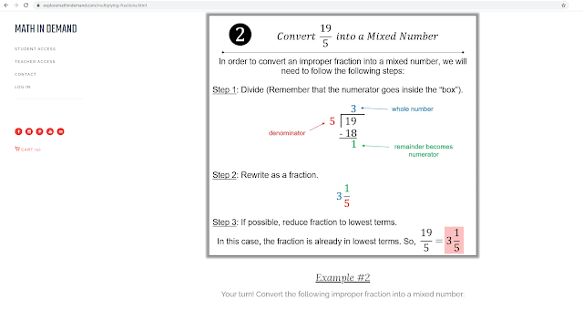 Multiplying Fractions Notes 2
