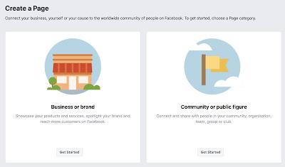 كيف اعمل صفحة تجارية على فيسبوك