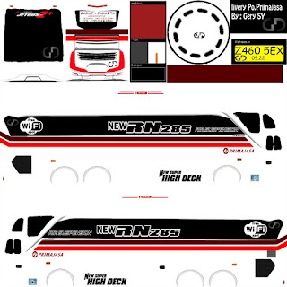 Download Livery Bus New RN285