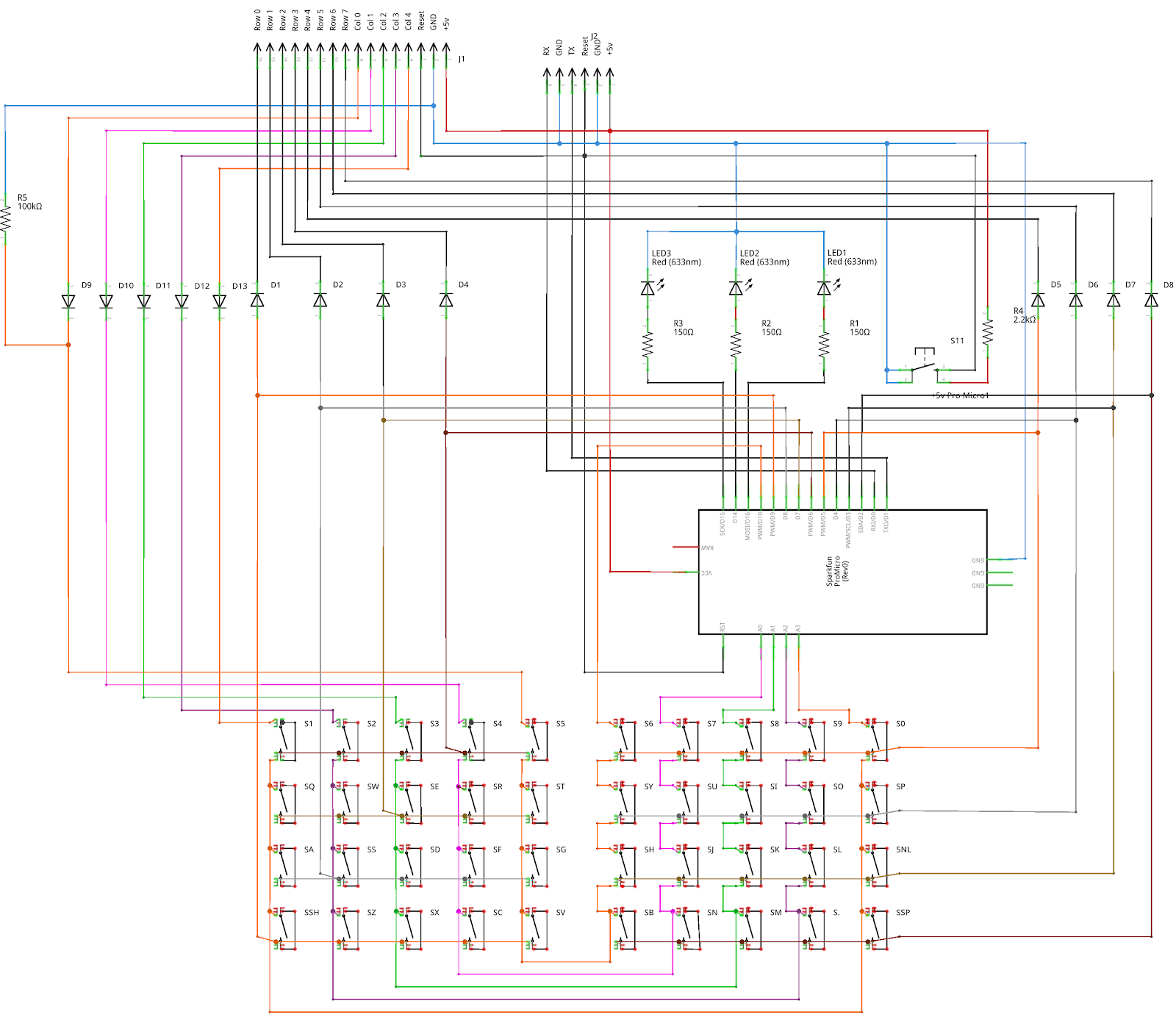 small resolution of zx key keyboard schematic