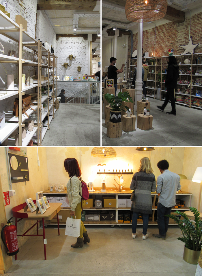 Valentina Vaguada: el concepto moderno store, store, malasaña, madrid, spain, desing