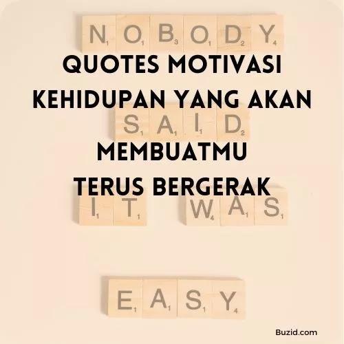 Quotes Motivasi Kehidupan